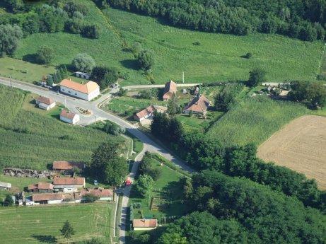 A Zala megyei Börzönce látképe - forrás panoramio.com